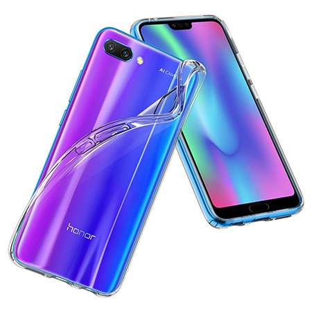 Etui na Huawei Honor 10 - Tęczowy przeplataniec.