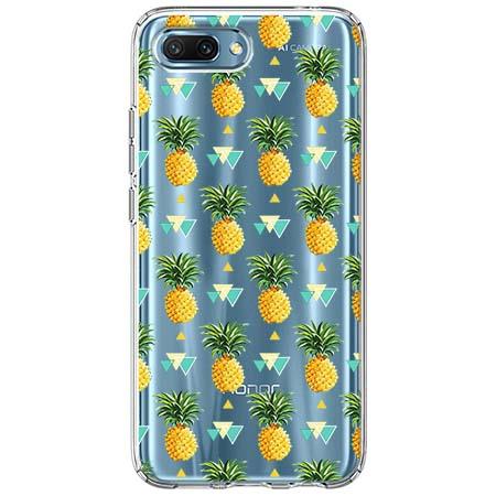 Etui na Huawei Honor 10 - Ananasowe szaleństwo.