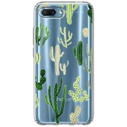 Etui na Huawei Honor 10 - Kaktusowy ogród.