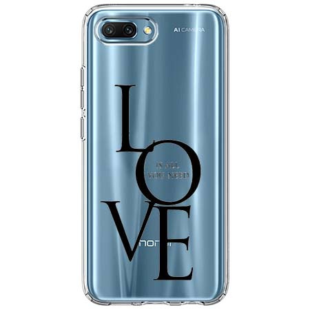 Etui na Huawei Honor 10 - All you need is LOVE.
