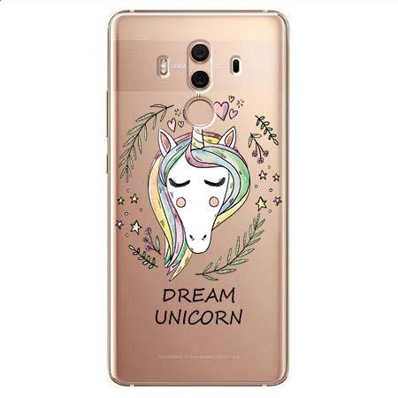 Etui na Huawei Mate 10 Pro - Dream unicorn - Jednorożec.