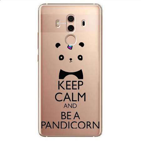 Etui na Huawei Mate 10 Pro - Keep Calm… Pandicorn.