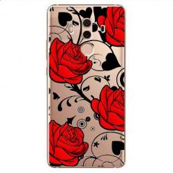 Etui na Huawei Mate 10 Pro - Czerwone róże.