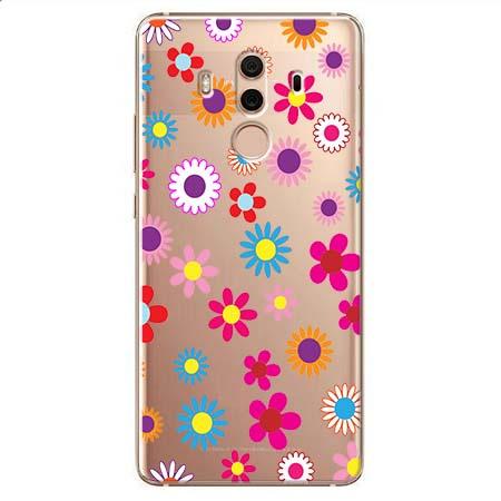Etui na Huawei Mate 10 Pro - Kolorowe stokrotki.