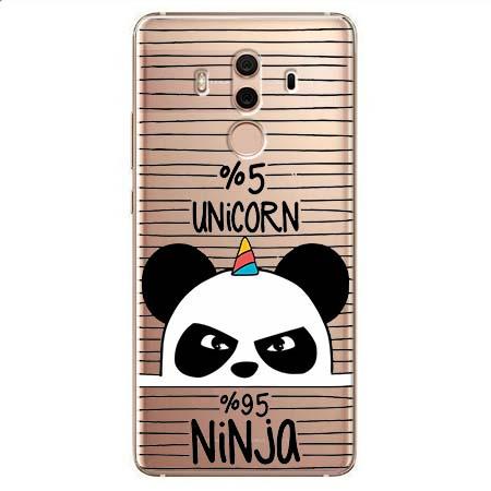 Etui na Huawei Mate 10 Pro - Ninja Unicorn - Jednorożec.