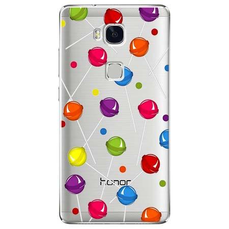 Etui na Huawei Honor 5X - Kolorowe lizaki.