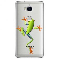 Etui na Huawei Honor 5X - Zielona żabka.