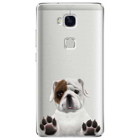 Etui na Huawei Honor 5X - Słodki szczeniaczek.