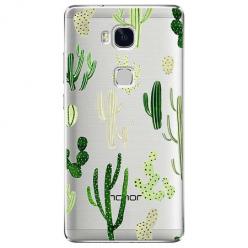 Etui na Huawei Honor 5X - Kaktusowy ogród.