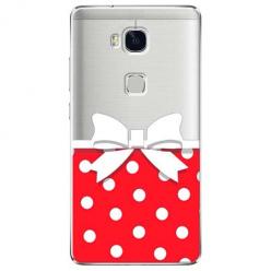 Etui na Huawei Honor 5X - Gustowna kokardka.