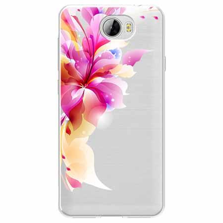Etui na Huawei Y5 II - Bajeczny kwiat.