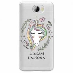 Etui na Huawei Y5 II - Dream unicorn - Jednorożec.