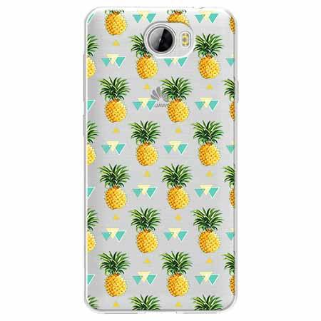 Etui na Huawei Y5 II - Ananasowe szaleństwo.