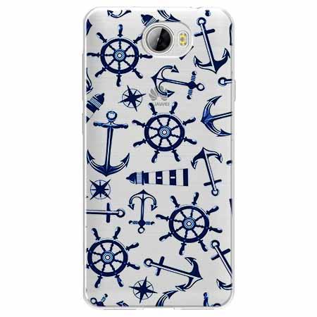 Etui na Huawei Y5 II - Ahoj wilki morskie.
