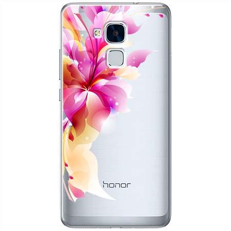 Etui na Huawei Honor 5C - Bajeczny kwiat.