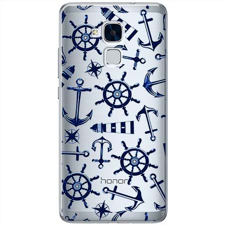 Etui na Huawei Honor 5C - Ahoj wilki morskie.