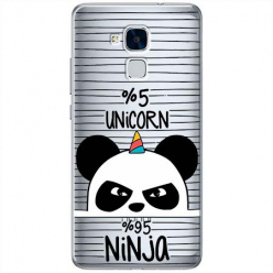 Etui na Huawei Honor 5C - Ninja Unicorn - Jednorożec.
