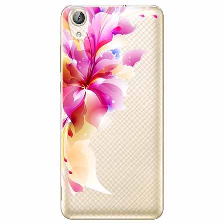Etui na Huawei Y6 II - Bajeczny kwiat.