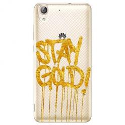 Etui na Huawei Y6 II - Stay Gold.