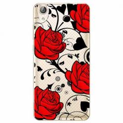 Etui na Huawei Y6 II - Czerwone róże.