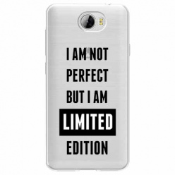 Etui na Huawei Y6 II Compact - I Am not perfect…