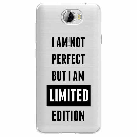 Etui na Huawei Y6 II Compact - I Am not perfect…