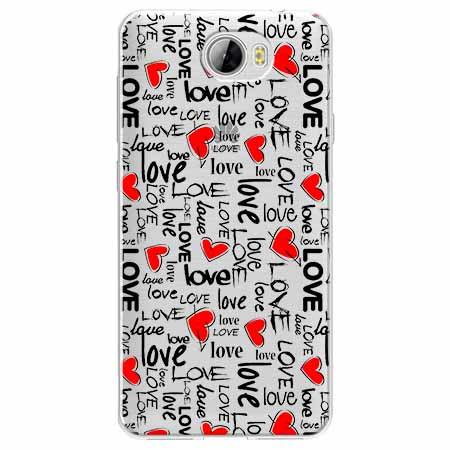 Etui na Huawei Y6 II Compact - Love, love, love…