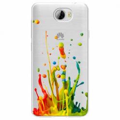 Etui na Huawei Y6 II Compact - Kolorowy splash.
