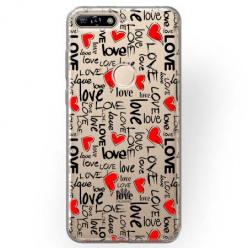 Etui na Huawei Y7 Prime 2018 - Love, love, love…