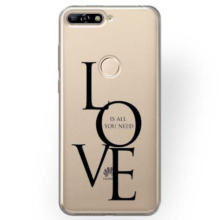 Etui na Huawei Y7 Prime 2018 - All you need is LOVE.