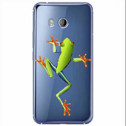 Etui na HTC U11 - Zielona żabka.