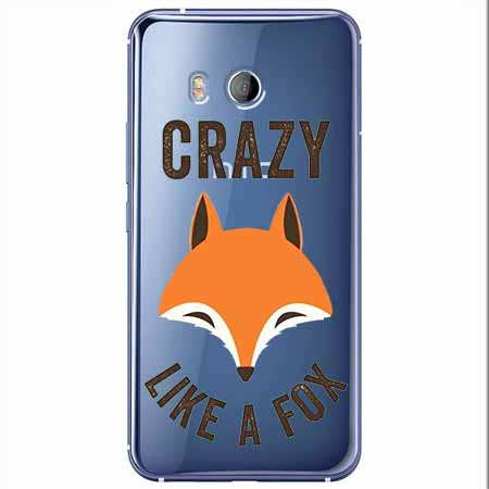 Etui na HTC U11 - Crazy like a fox.