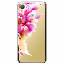 Etui na HTC Desire 12 - Bajeczny kwiat.