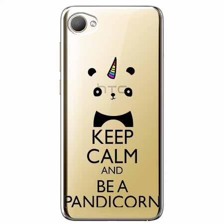 Etui na HTC Desire 12 - Keep Calm… Pandicorn.