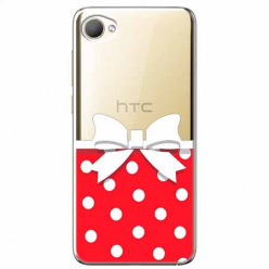 Etui na HTC Desire 12 - Gustowna kokardka.