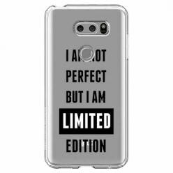 Etui na LG V30 - I Am not perfect…