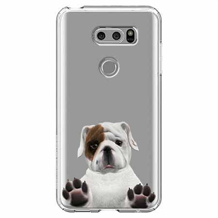 Etui na LG V30 - Słodki szczeniaczek.
