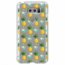 Etui na LG V30 - Ananasowe szaleństwo.