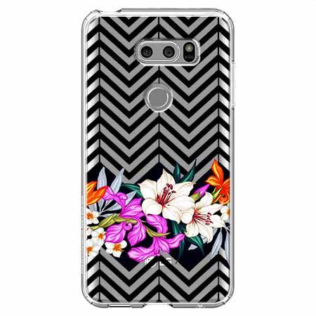 Etui na LG V30 - Kwiatowy bukiet dla Ciebie.