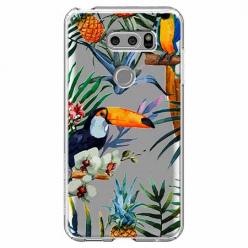 Etui na LG V30 - Egzotyczne tukany.