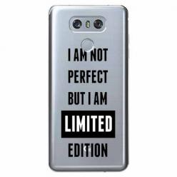 Etui na LG G6 - I Am not perfect…