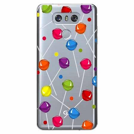 Etui na LG G6 - Kolorowe lizaki.