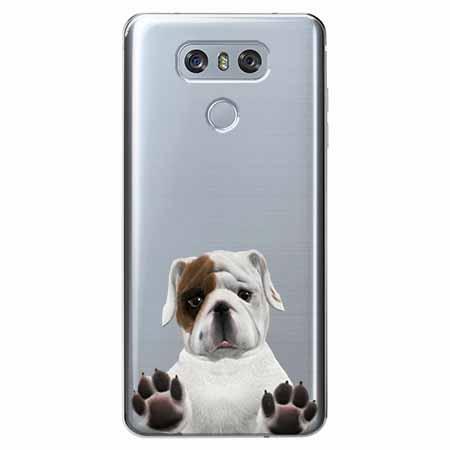 Etui na LG G6 - Słodki szczeniaczek.