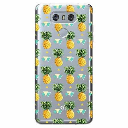 Etui na LG G6 - Ananasowe szaleństwo.