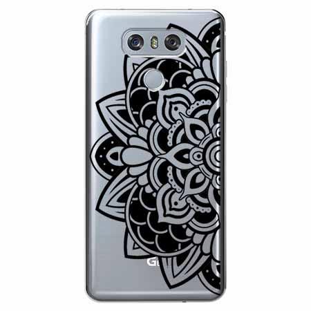 Etui na LG G6 - Kwiatowa mandala.