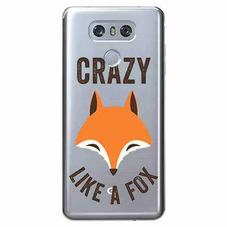 Etui na LG G6 - Crazy like a fox.