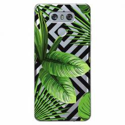 Etui na LG G6 - Egzotyczne liście bananowca.