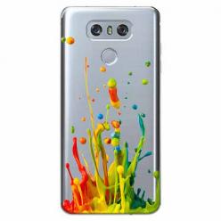 Etui na LG G6 - Kolorowy splash.