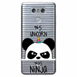 Etui na LG G6 - Ninja Unicorn - Jednorożec.