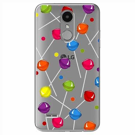 Etui na LG K8 2017 - Kolorowe lizaki.